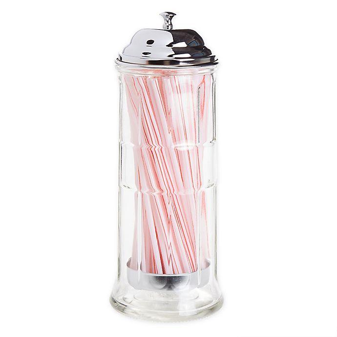 Alternate image 1 for TableCraft® Straw Dispenser with Straws