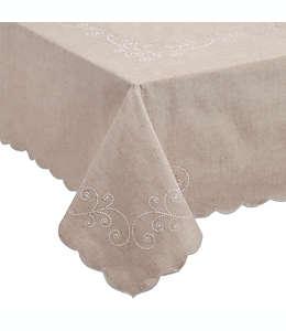 Mantel rectangular Lenox® French Perle de 1.52 x 2.13 m en lino