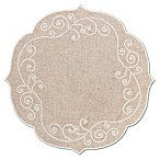 Lenox® French Perle Round Placemat in Linen