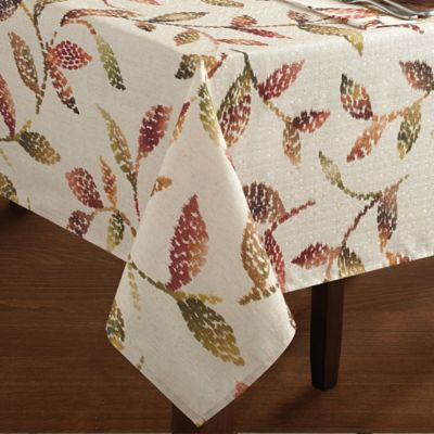 Croscill 174 Falling Leaves Tablecloth Bed Bath And Beyond
