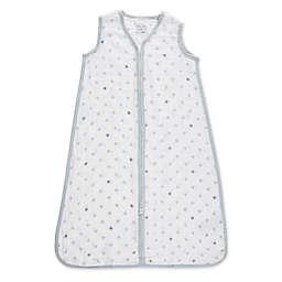 aden® by aden + anais® Dove Muslin Wearable Blanket in White/Grey