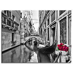 Love Canal Canvas Wall Art