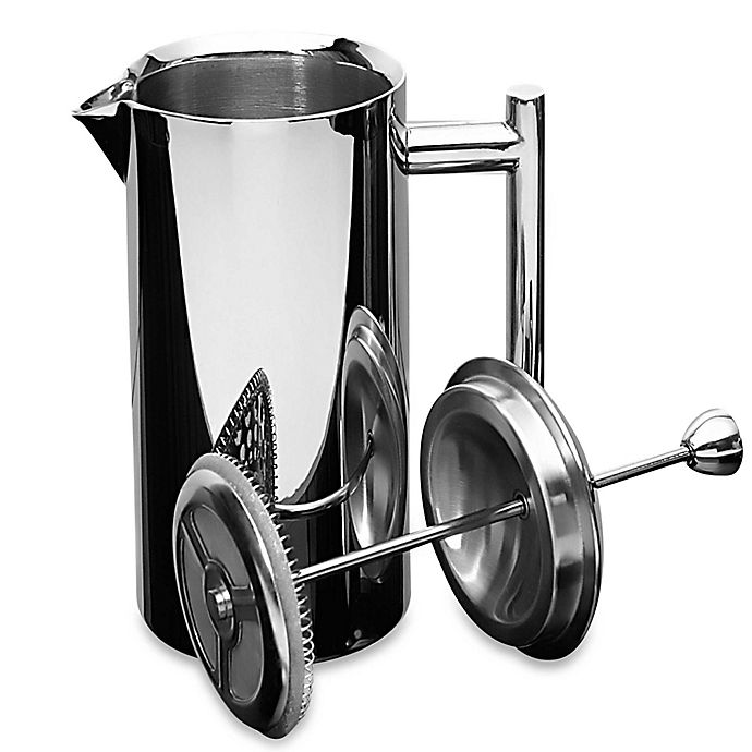 Alternate image 1 for Frieling 35 oz. Insulated Stainless Steel French Press in Mirror Finish