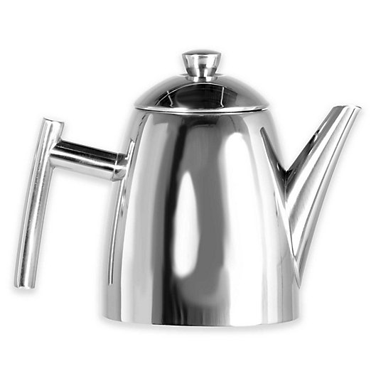 Alternate image 1 for Frieling Stainless Steel Primo Teapot with Infuser