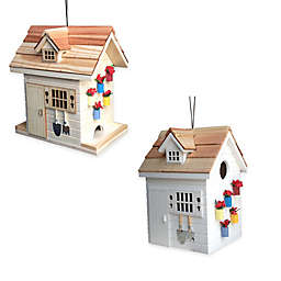 Home Bazaar Potting Shed Bird Feeders and Birdhouses
