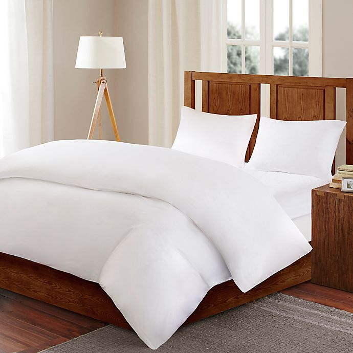 Alternate image 1 for Sleep Philosophy Bed Guardian 3M Scotchguard™ Full/Queen Comforter Protector in White