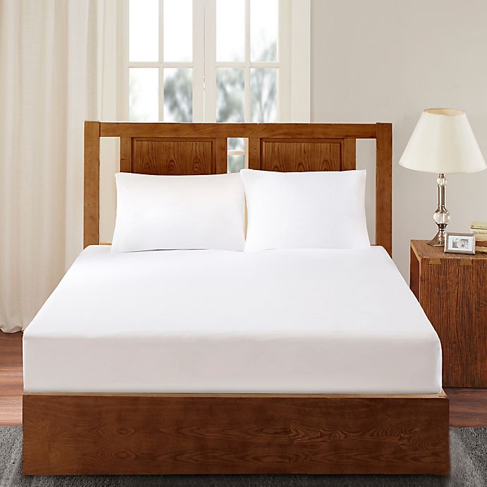 Alternate image 1 for Bed Guardian by Sleep Philosophy 3M Scotchgard Twin Mattress Protector