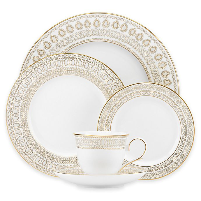 Alternate image 1 for Marchesa by Lenox® Gilded Pearl Dinnerware Collection