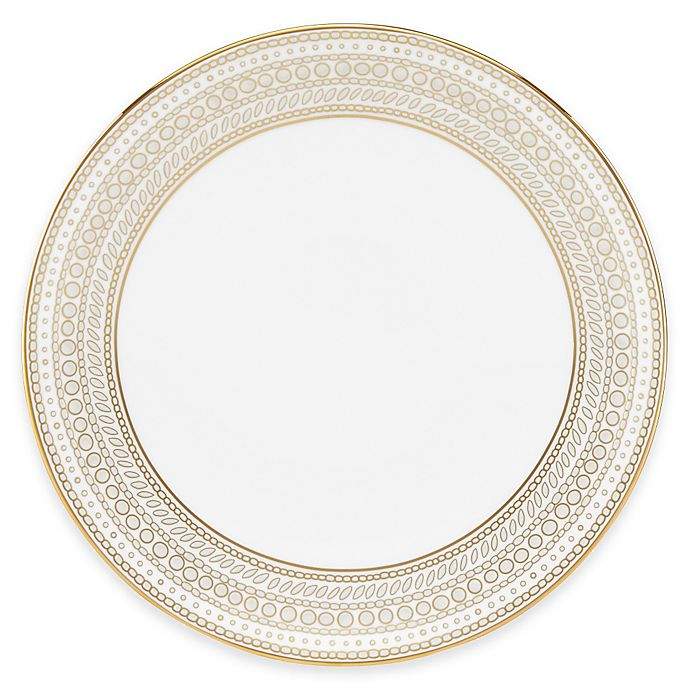 Buy Marchesa By Lenox® Gilded Pearl Accent Plate From Bed