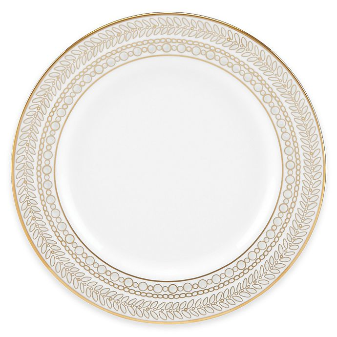 Alternate image 1 for Marchesa by Lenox® Gilded Pearl Bread and Butter Plate