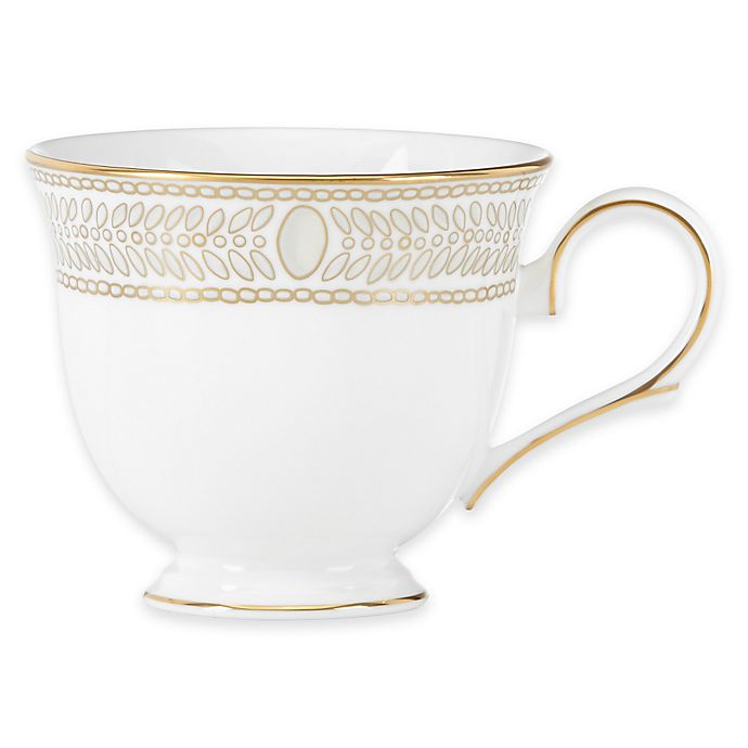 Alternate image 1 for Marchesa by Lenox® Gilded Pearl Teacup