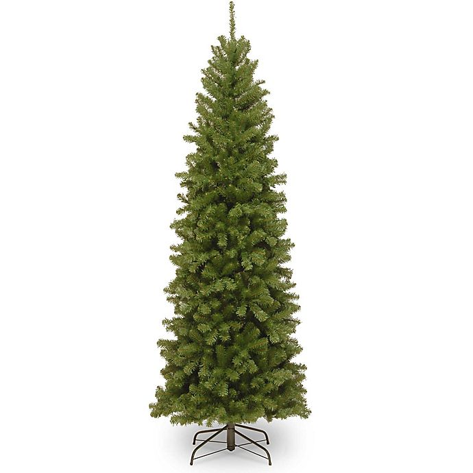 Alternate image 1 for National Tree Company North Valley Spruce Pencil Slim Artificial Christmas Tree