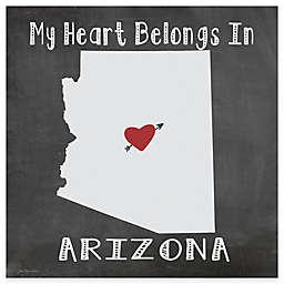 "Thirstystone® ""My Heart Belongs in Arizona"" Coasters (Set of 4)"