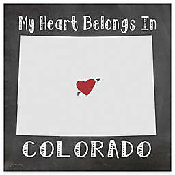 "Thirstystone® ""My Heart Belongs in Colorado"" Coasters (Set of 4)"
