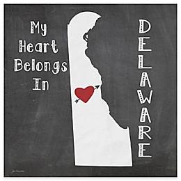 "Thirstystone® ""My Heart Belongs in Delaware"" Coasters (Set of 4)"