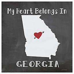 "Thirstystone® ""My Heart Belongs in Georgia"" Coasters (Set of 4)"