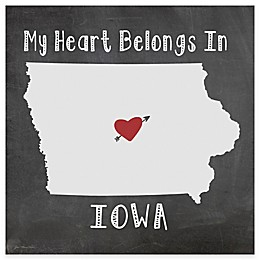 "Thirstystone® ""My Heart Belongs in Iowa"" Coasters (Set of 4)"