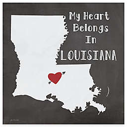 "Thirstystone® ""My Heart Belongs in Louisiana"" Coasters (Set of 4)"