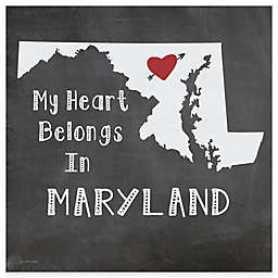 "Thirstystone® ""My Heart Belongs in Maryland"" Coasters (Set of 4)"