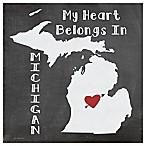 Thirstystone®  My Heart Belongs in Michigan  Coasters (Set of 4)