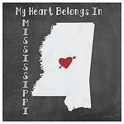 "Thirstystone® ""My Heart Belongs in Mississippi"" Coasters (Set of 4)"