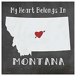 "Thirstystone® ""My Heart Belongs in Montana"" Coasters (Set of 4)"