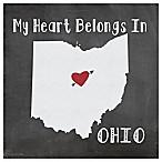 Thirstystone®  My Heart Belongs in Ohio  Coasters (Set of 4)
