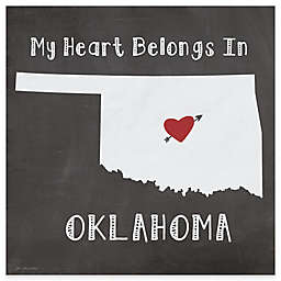 "Thirstystone® ""My Heart Belongs in Oklahoma"" Coasters (Set of 4)"