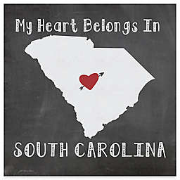 "Thirstystone® ""My Heart Belongs in South Carolina"" Coasters (Set of 4)"