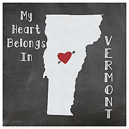 """Thirstystone® """"My Heart Belongs in Vermont"""" Coasters (Set of 4)"""