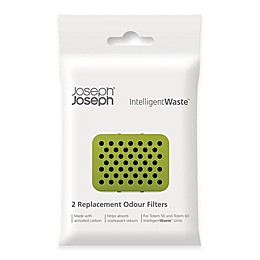 Joseph Joseph® 2-Pack IntelligentWaste® Carbon Filter Refill