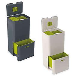 Joseph Joseph® IntelligentWaste® Totem 60 Liter Trash Separation & Recycling Unit