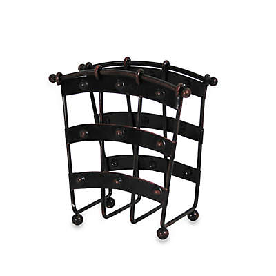 Mesa Old Country Iron Napkin Holder in Antique Black