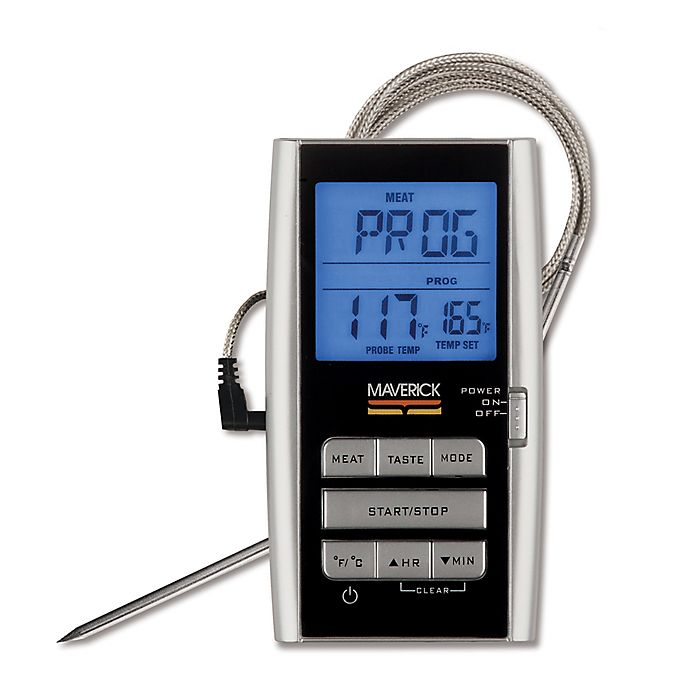 Digital Single Probe Roast Alert Cooking Thermometer Bed