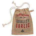 Garlic Small Burlap Sack