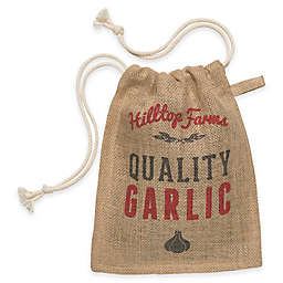 Garlic Small Burlap Sack