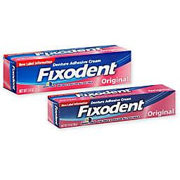 Fixodent Original Denture Adhesive Cream