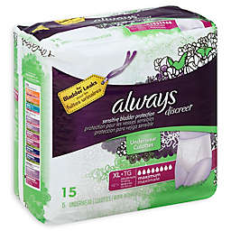 Always® Discreet Maximum Underwear for Incontinence