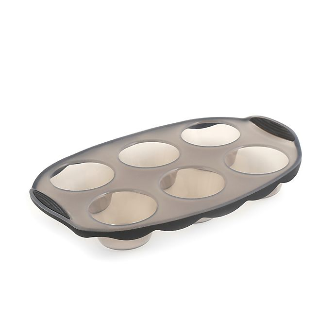 Alternate image 1 for Pure 6-Cup Silicone Muffin Pan