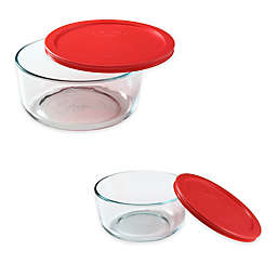 Pyrex® Storage Plus Round Glass Bowl with Cover