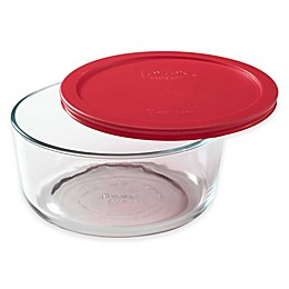 Pyrex® Storage Plus 7-Cup Round Glass Bowl with Cover