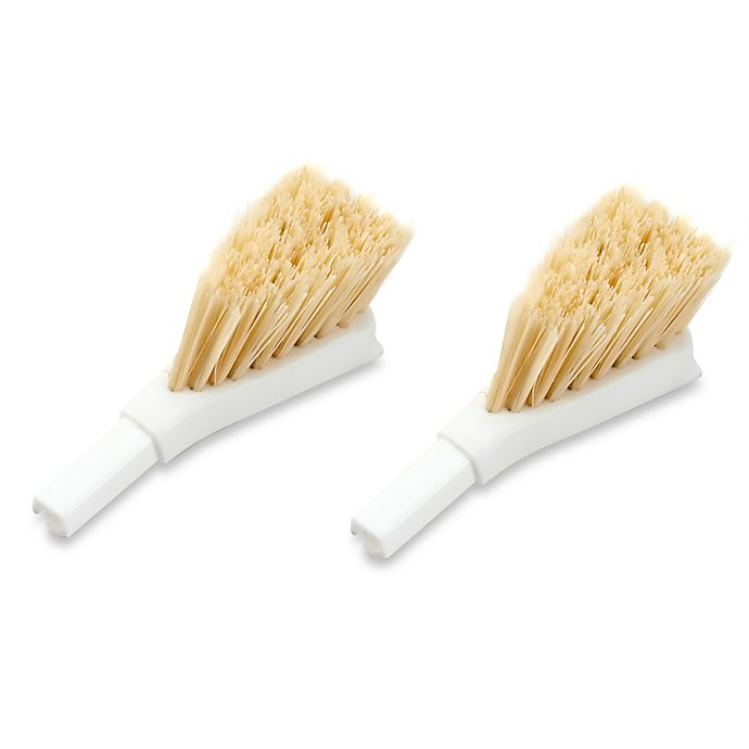 Alternate image 1 for Full Circle 2-Pack Laid Back 2.0 Replacement Dish Brush Heads
