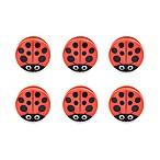 Kikkerland® Design Ladybug Bag Clips