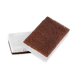 Full Circle In A Nutshell Walnut Scrubber Sponges (Set of 2)