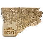 Totally Bamboo Detroit Cutting/Serving Board
