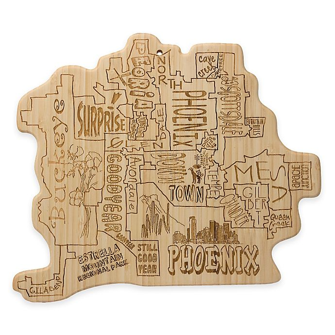 Alternate image 1 for Totally Bamboo Phoenix Cutting/Serving Board