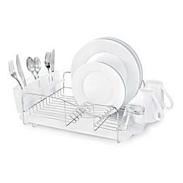 Polder® Advantage 3-Piece Stainless Steel Dish Rack