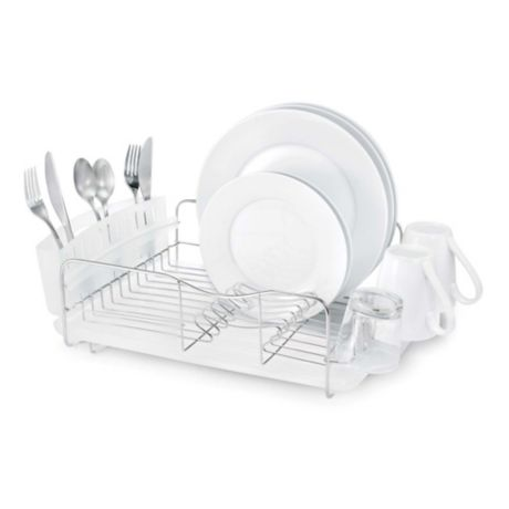 Polder 174 Advantage 3 Piece Stainless Steel Dish Rack Bed