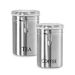 Cool Stainless Steel Kitchen Canisters Bed Bath Beyond Best Image Libraries Thycampuscom