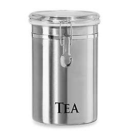 """Oggi™ 62 fl. oz. Stainless Steel """"Tea"""" Canister"""